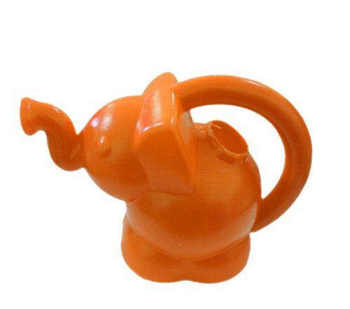Лейка слоник (оранжевый) KW-01-103-2, фото 2
