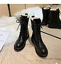 Женские зимние ботинки (с мехом), фото 3
