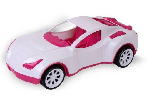 Машинка пластиковая Спорткар (белая) 6351