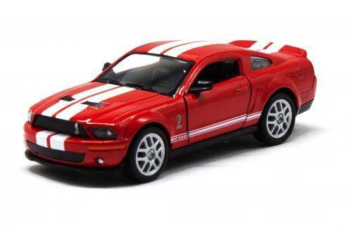 Машинка KINSMART Shelby GT500 (красная) KT5310W, фото 2