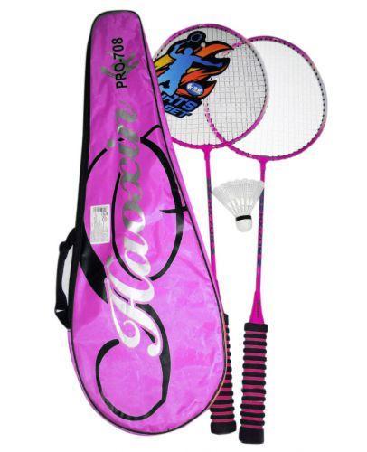 Бадминтон с воланчиком (розовый) C34535
