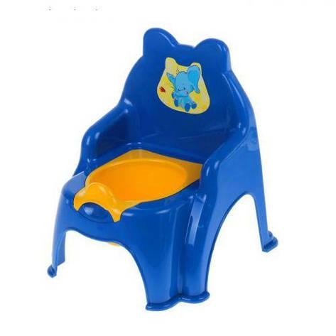Детский горшок-стульчик (синий) 013317/02/8, фото 2
