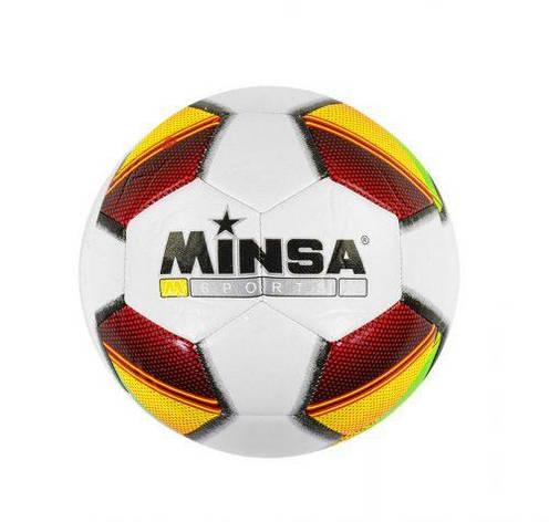 Мяч футбольный (желтый) C40104, фото 2