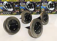 Садовые светильники на солнечной батарее DISK LIGHTS,Уличное освещение ART-1998 (30 шт/ящ)