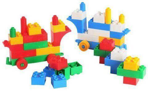 Конструктор пластиковый, 50 деталей, фото 2
