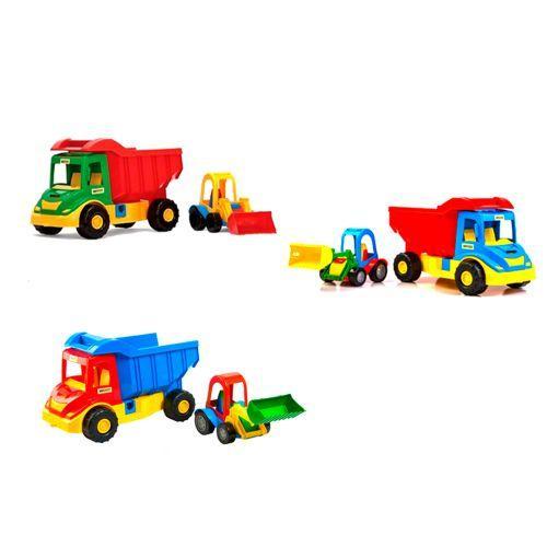 """Грузовик с трактором """"Multi Truck"""""""