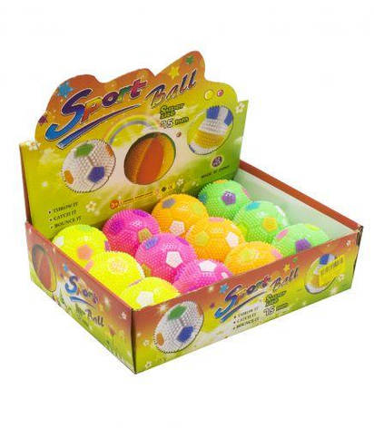 Мяч массажный Футбол SV92, фото 2