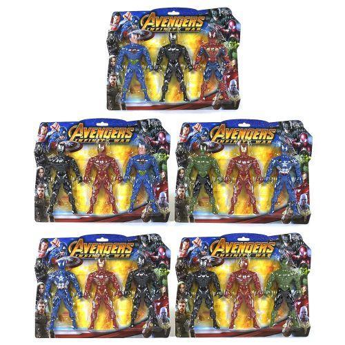 Набор героев Marvel LC835
