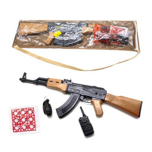 Автомат АК-47 с пистонами и аксессуарами 251