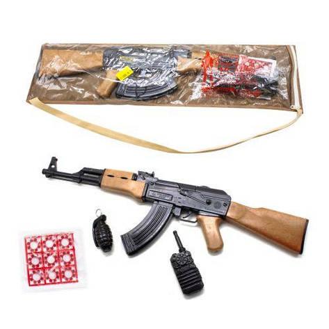 Автомат АК-47 с пистонами и аксессуарами 251, фото 2