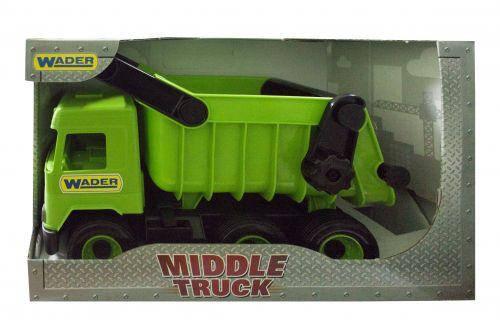 Самосвал Middle truck (зеленый) 39482, фото 2