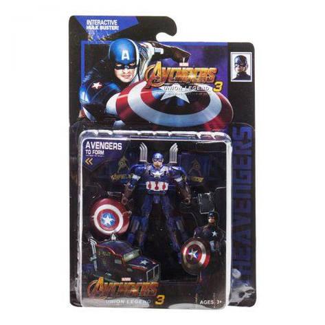Трансформер Мстители, Капитан Америка 99102, фото 2