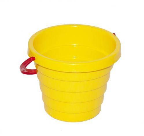Ведёрко А ТехноК (желтое) 0472, фото 2