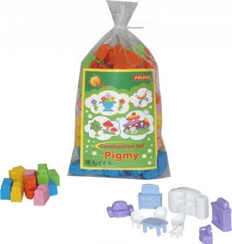 Пластиковый конструктор 130 деталей
