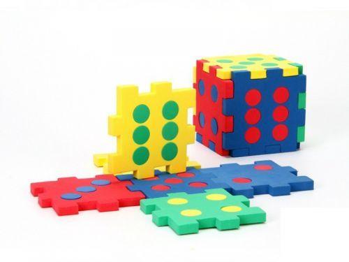 Кубик-пазл, 6 элементов