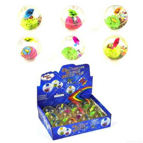 Набор мячей-прыгунов Рыбки (12 штук) C29247, фото 2