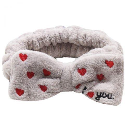 Плюшевая повязка Love (светло-коричневый) BA1058