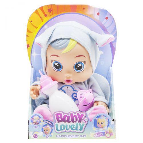 Пупс CRY BABIES (голубой) 195