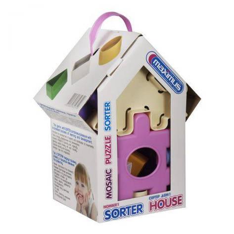 """Сортер """"Дом для принцессы"""" (розовый), фото 2"""