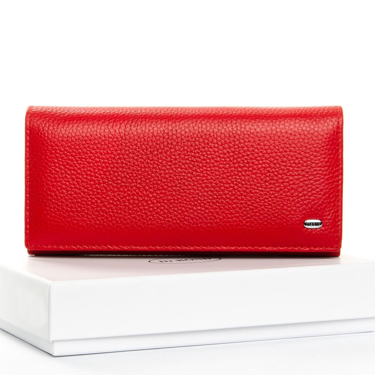 Кошелек Classic кожа DR. BOND W501-2 red