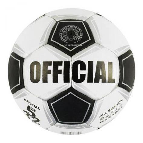 Мяч футбольный №5 (черный) GA-2074, фото 2