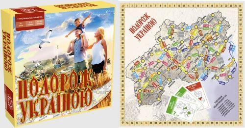Настольная игра Путешествие по Украине 20757