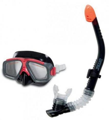 Набор маска и трубка для плаванья, фото 2