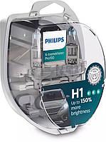 Автомобильные лампы Philips H1 X-tremeVision Pro +150% 12258XVPS2 [Оригинал]
