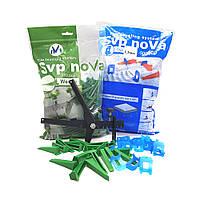 Комплект noVa SVP (500 Оснований 1,5 мм  + 150 Клиньев + Инструмент), фото 1