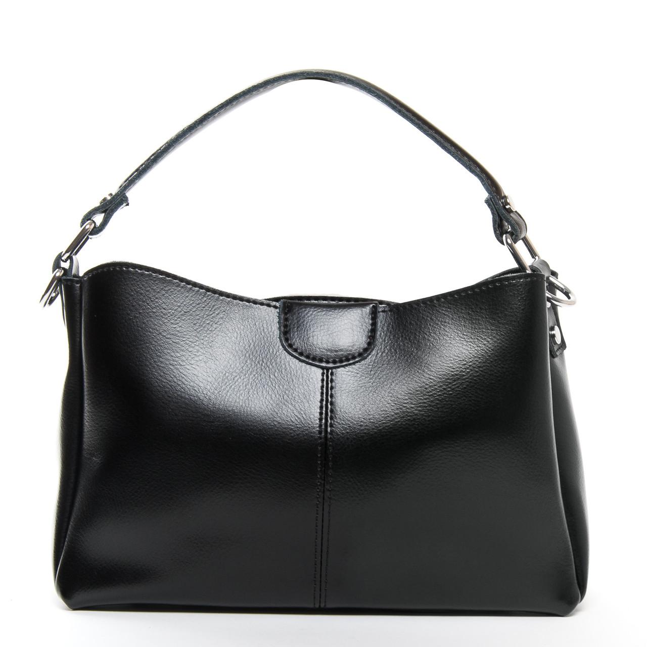 Сумка Женская Классическая кожа ALEX RAI 9-01 1383 black