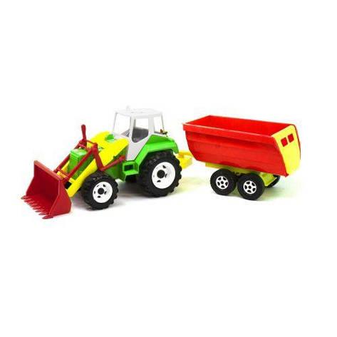 """Трактор """"Тигр"""" с прицепом (зеленый), фото 2"""