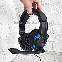 Игровые наушники с микрофоном HAVIT HV-H2032d / Геймерские наушники для пк / Гарнитура для компа