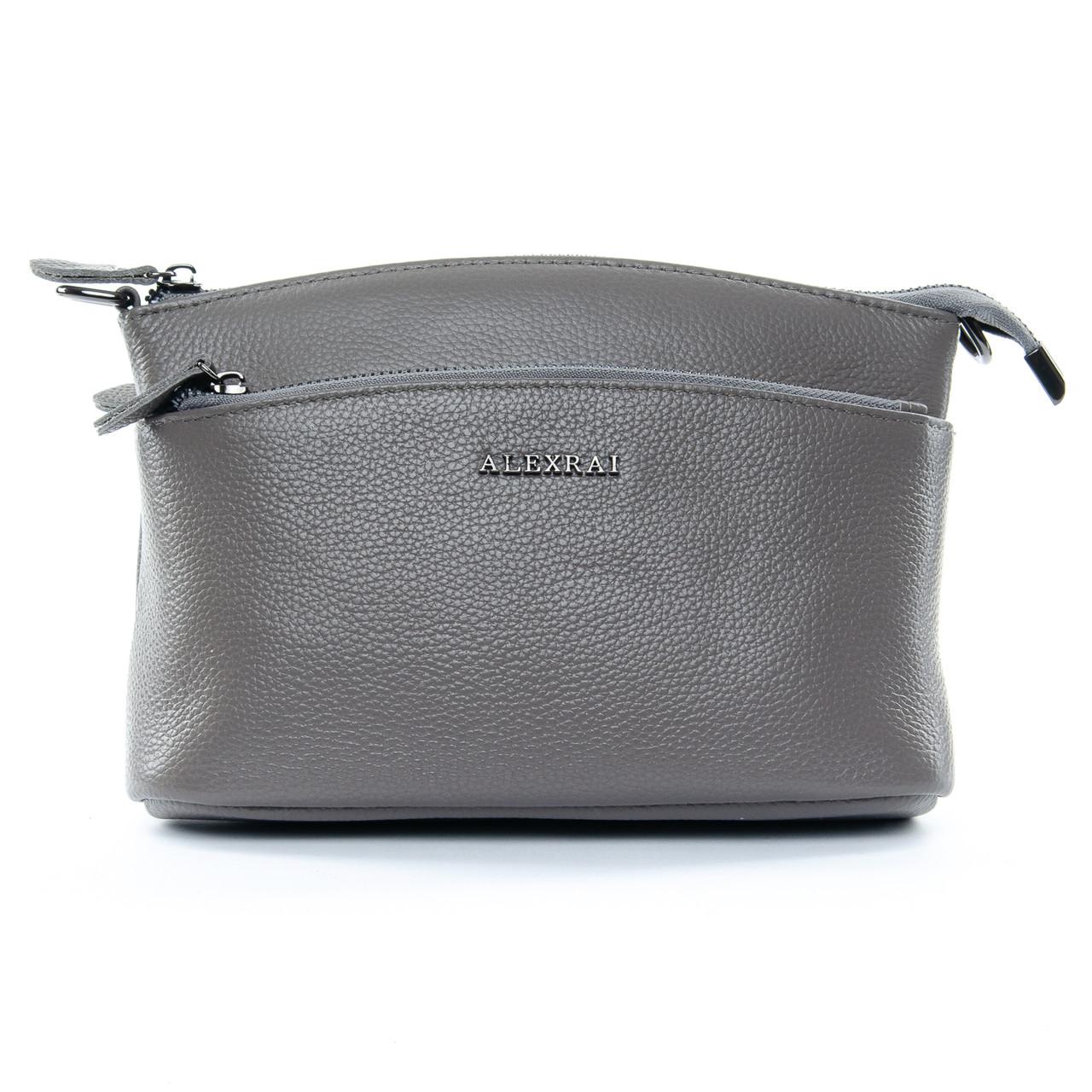 Сумка Женская Клатч кожа ALEX RAI 1-02 2907-7 grey