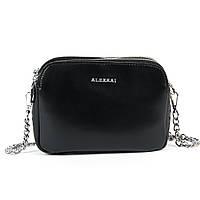 Сумка Женская Клатч кожа ALEX RAI 9-01 8701 black, фото 1
