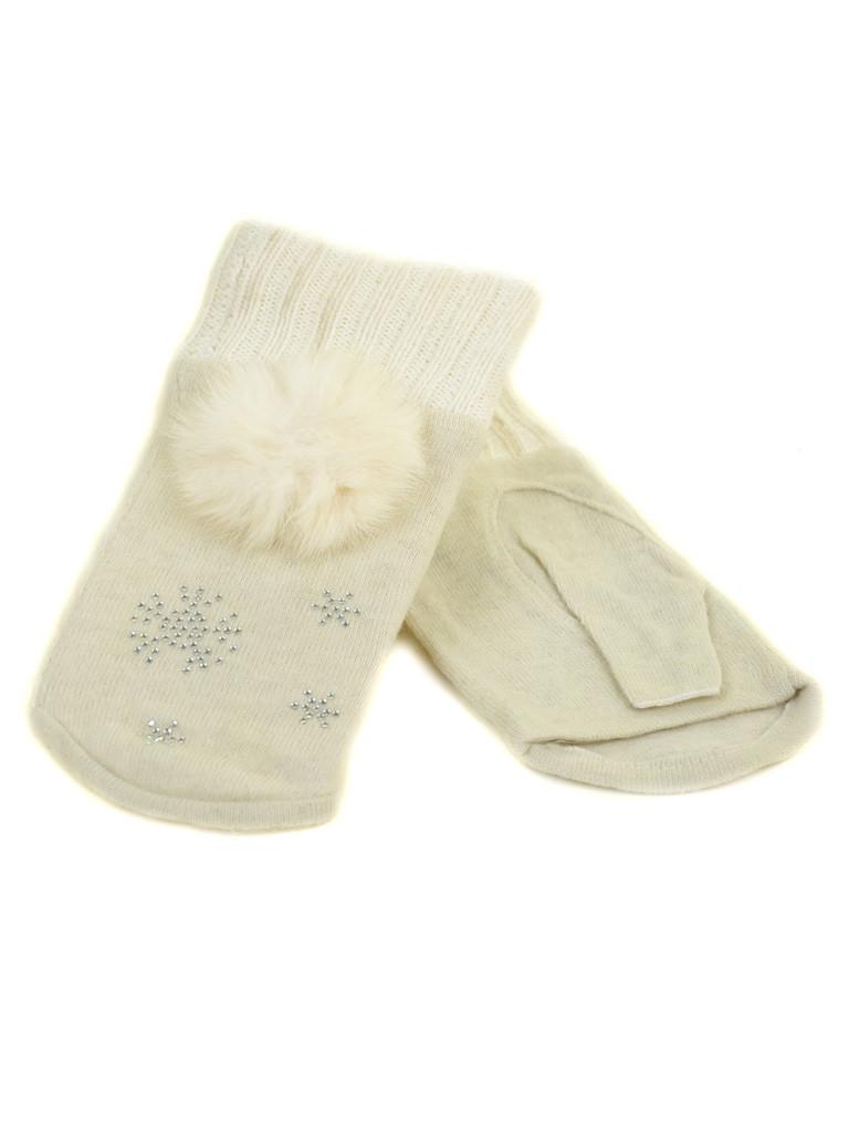 Перчатка Женская вязка FO-3 white