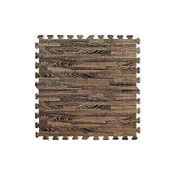 Напольное модульное покрытие «Мягкий пол пазл» Темного цвета