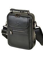 Сумка Мужская Планшет кожаный BRETTON BE 2003-4 black, фото 1