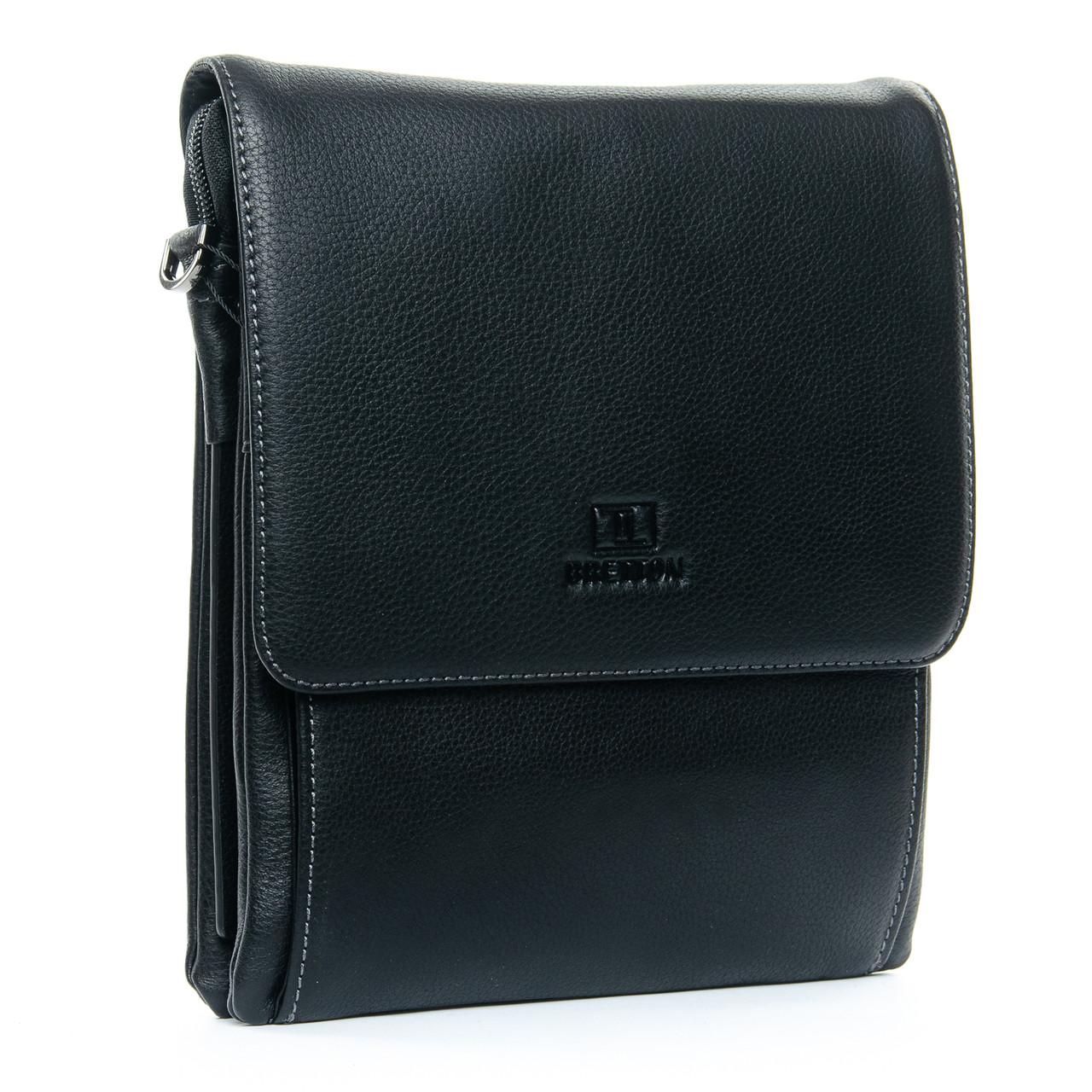 Сумка Мужская Планшет кожаный BRETTON BE 5190-4 black