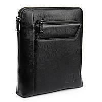 Сумка Мужская Планшет кожаный BRETTON BP 3563-3 black, фото 1