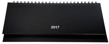 Планінг датований 320х120 Buromax 128 л. спіраль чорний 2020 STRONG BM.2598-01