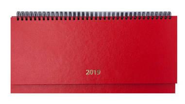 Планінг датований 320х120 Buromax 128 л. спіраль червоний 2020 STRONG BM.2598-05