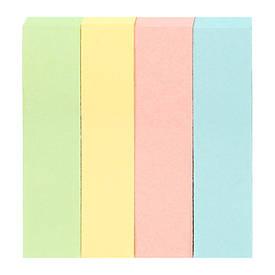 Закладки Axent бумажные 4х12х51мм 400 шт прямоугол D3445-01