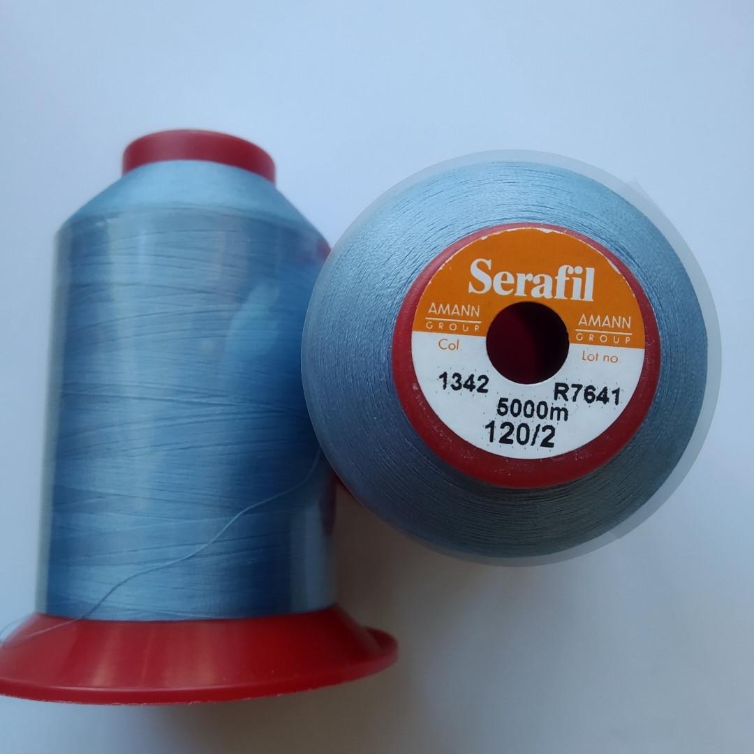 Нитки Serafil Amann 120/2 колір 1342
