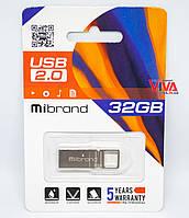 USB флешка Mibrand Shark 32GB Silver (MI2.0/SH32U4S)