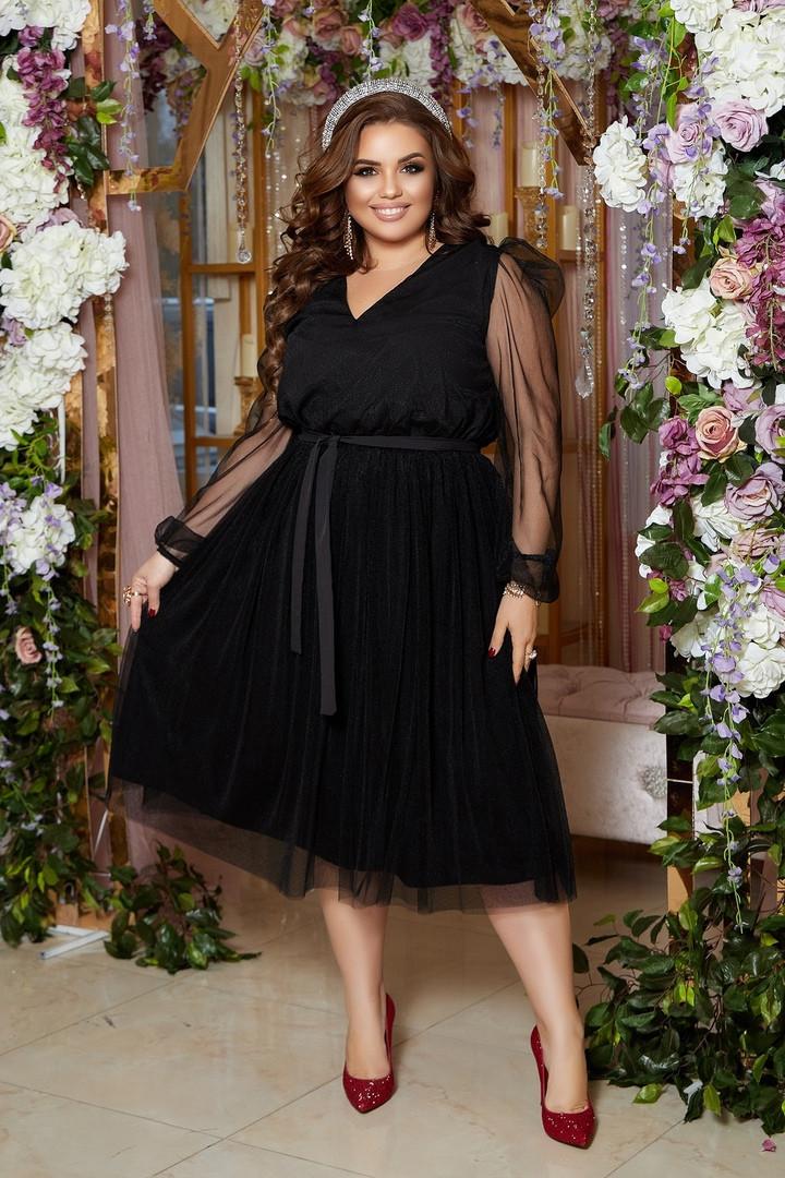 Женское нарядное платье большого размера.Размеры:48/50,52/54,56/58+Цвета