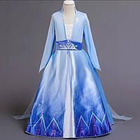 Платье Эльза часть 2 Холодное сердце 130см