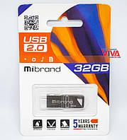 USB флешка Mibrand Stingray 32GB Grey (MI2.0/ST32U5G)