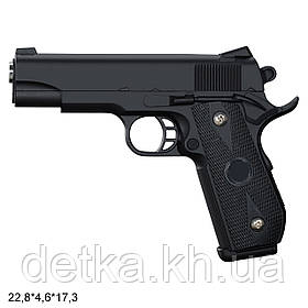 Детский пистолет VIGOR V9 с пульками, детское оружие