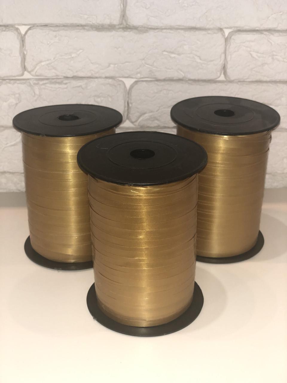Лента для шаров бронза 0,5/400 Украина