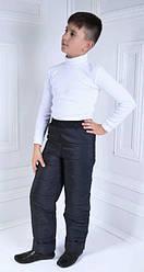 Теплі зимові дитячі штани розмір 98